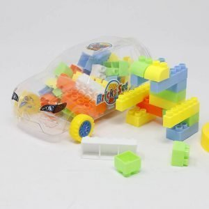 Building blocks for kids in Car shaped container