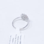 6972229393574Silver GZ Zircon Flower Ring (1)